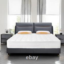 Memory Foam Mattress Pocket Sprung Bed Orthopédique 3ft Single 4ft6 5ft King
