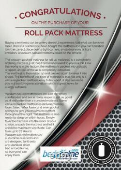New Cheap Memory Foam Pocket Sprung Mattress 6ft6 / Dimension Européenne Livraison Gratuite