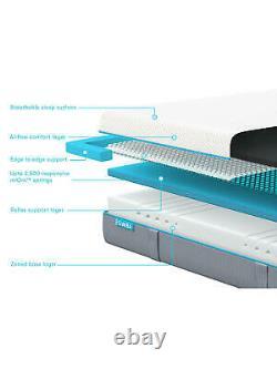 Nouveau Simba Hybrid Pocket Spring Memory Foam Superking 180 X 200cm Matelas Med