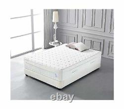 Oliver Smith Cool Memory Mousse Pocket Spring Matelas Bio Coton 12 Full New