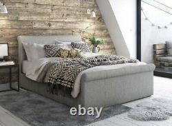 Ottoman Stockage Gaz Lift Up Petit Double Fabric Bed Pocket Sensation Withcoolmax