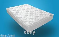 Pocket Sprung 2500 Memory Foam & Foam Encased Matelas 3ft 4ft 4ft6 5ft