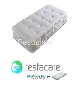 Pocket Sprung Memory Foam Combi Matelas De Lit Électrique Réglable 2ft6 À 4ft6