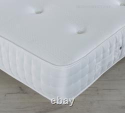 Sandringham 2000 Memory Foam Pocket Matelas 3ft 4ft 4ft6 5ft 6ft Livraison Gratuite