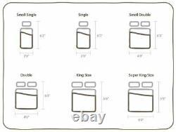 Santorin 3000 Pocket Sprung Memory Foam Matelas, Deep Tufted 3ft, 4ft6 5ft
