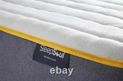 Sleep Soul Balance Single 90cm 3ft Matelas Pocket Sprung Memory Foam