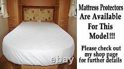 Swift Caravan Island Bed Pocket Sprung & Memory Mousse Matelas Sur Mesure