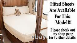 Swift Challenger 570se Pocket Sprung & Memory Foam Mattress Fixed Bed Caravan